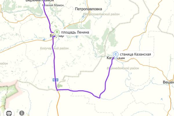 Богучар-Казанская