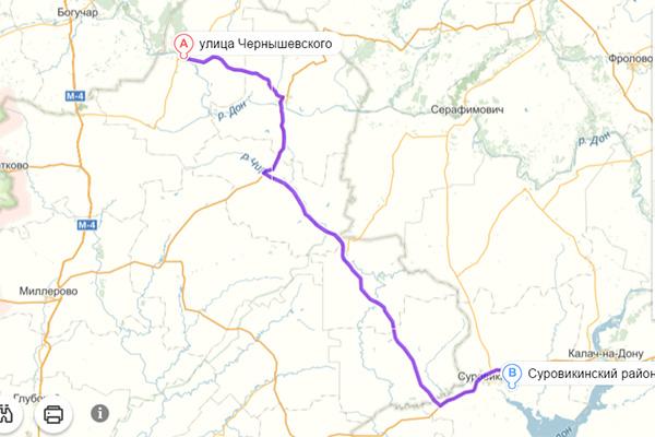 Казанская-Суровикино
