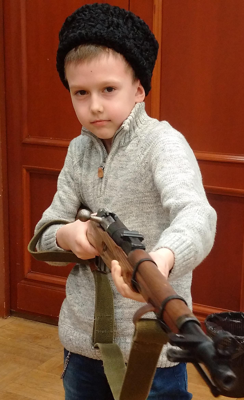 казачье оружие